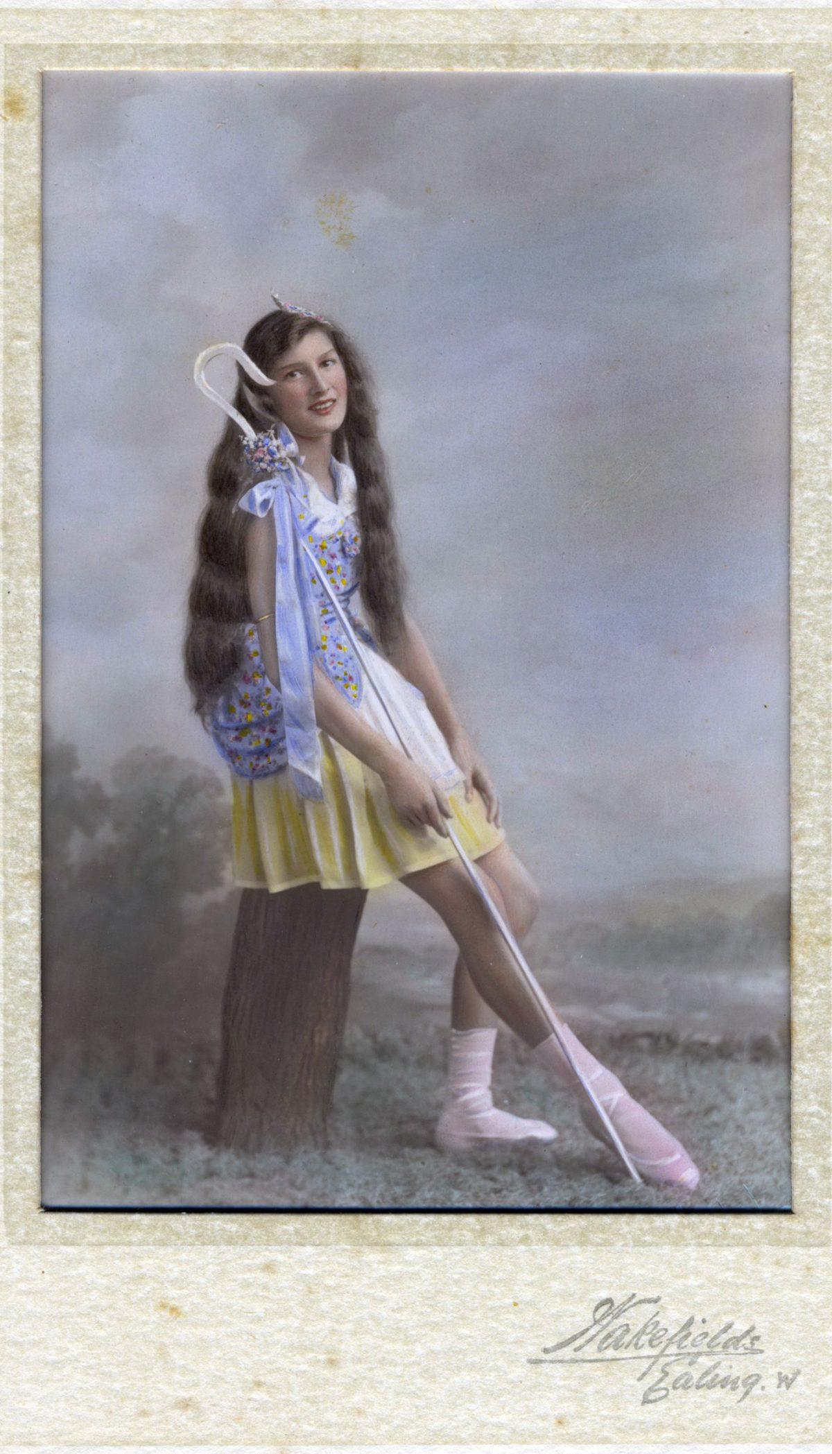 Marjorie Sear, Ballet Dancer 1939